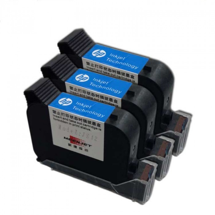 Mực in BSR-INK42 máy in date cầm tay Dung tích mực 42ml In phun trên mọi vật liệu khô nhanh - BSR-INK421