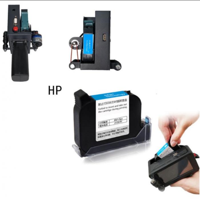 Mực in BSR-INK42 máy in date cầm tay Dung tích mực 42ml In phun trên mọi vật liệu khô nhanh - BSR-INK422