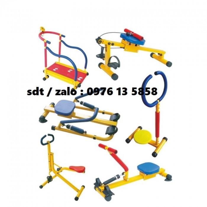 Dụng cụ chèo thuyền Rowing Machine, gym cho bé, gym mầm non1