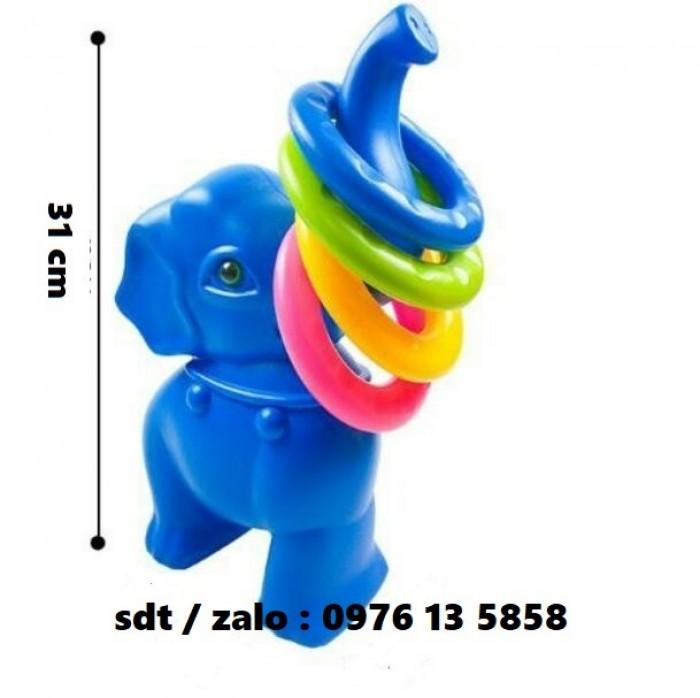 ném vòng, ném vòng bằng nhựa, ném vòng con voi, ném vòng mầm non2