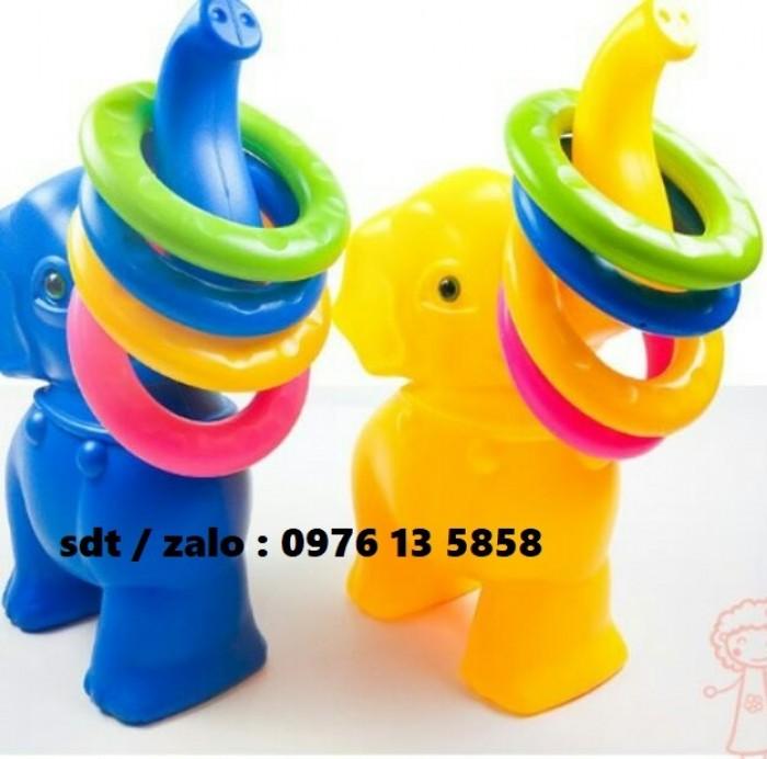 ném vòng, ném vòng bằng nhựa, ném vòng con voi, ném vòng mầm non1
