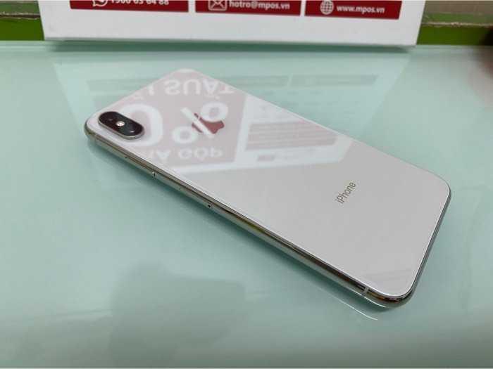 Iphone Xs max 256gb trắng lock mỹ đẹp keng2