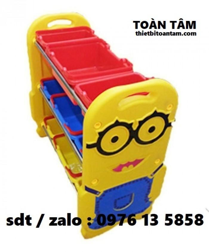 Kệ Đồ Chơi Minion Cho Bé - Kệ đồ chơi cho bé2