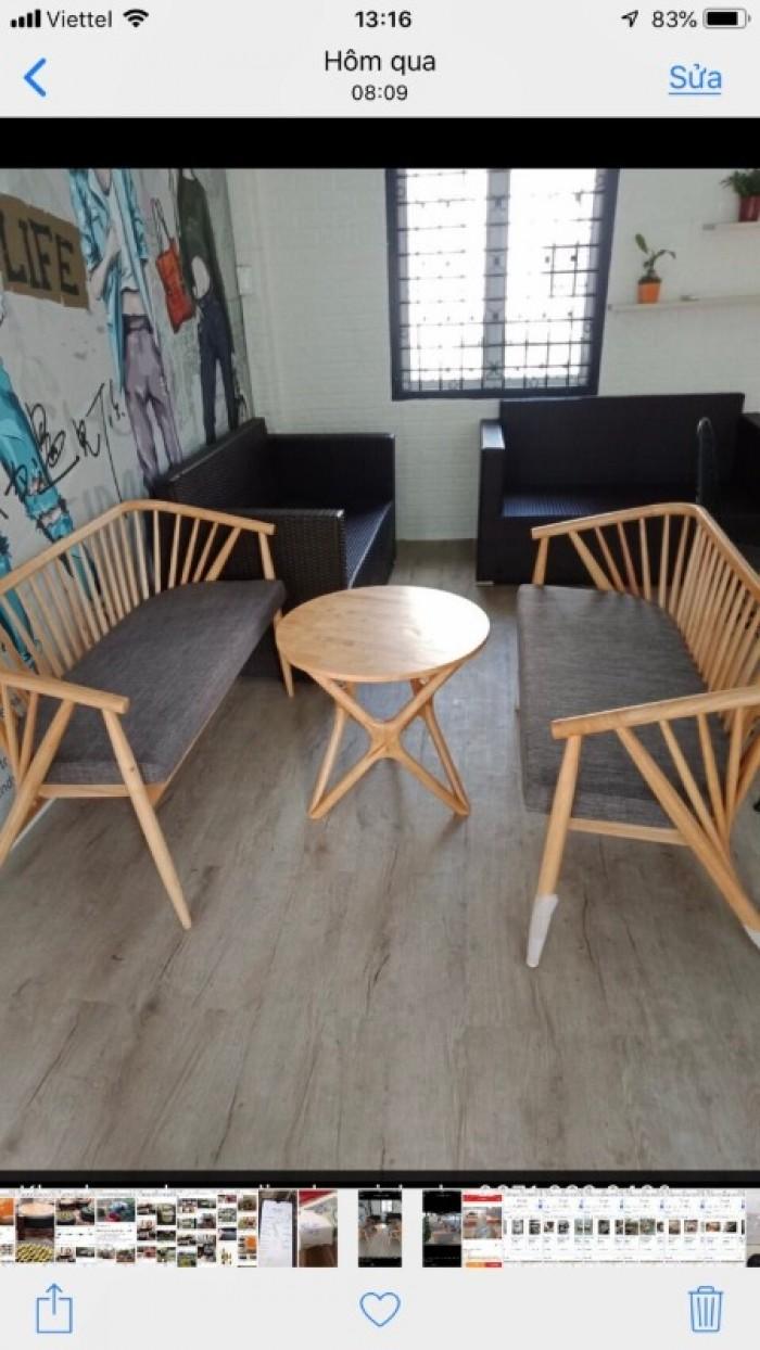 Sofa dùng cho quán cafe giá tại xưỡng sản xuất2