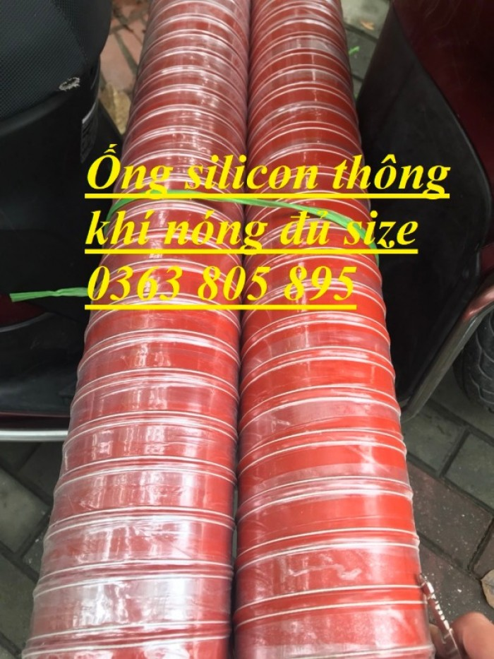 Báo giá ống silicon chịu nhiệt phi 63,phi 76,phi 90,phi 1004