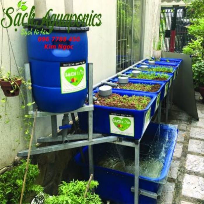 Thùng nhựa chữ nhật trồng rau, nuôi cá giá rẻ3