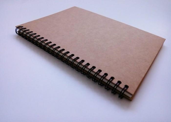 In ấn sổ tay nhân viên, sổ lò xo giá rẻ5