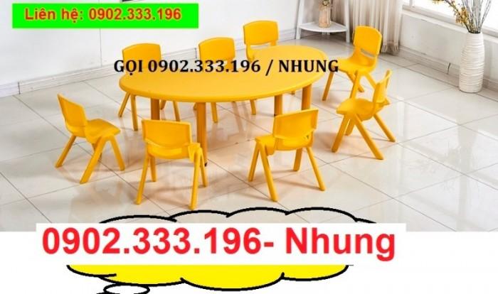 Bán bàn ghế nhựa cho bé, bàn ghế trẻ em giá rẻ5