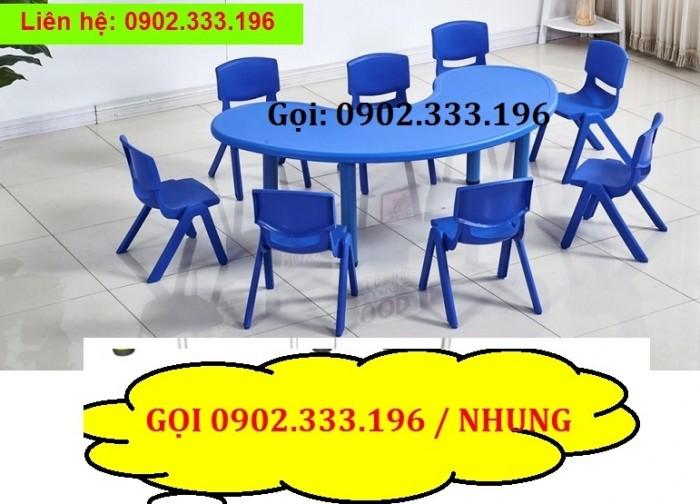 Bán bàn ghế nhựa cho bé, bàn ghế trẻ em giá rẻ7