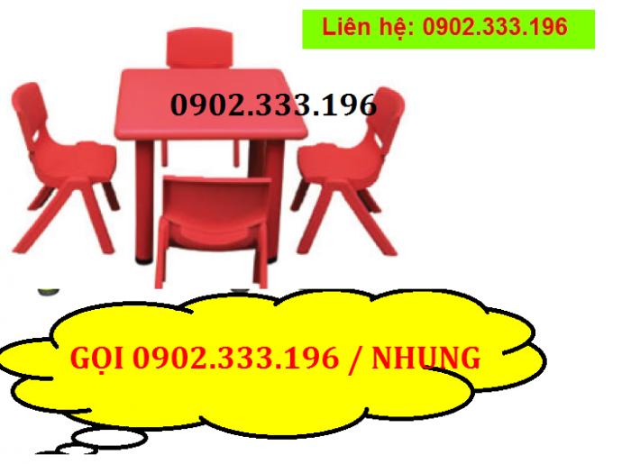 Bán bàn ghế nhựa cho bé, bàn ghế trẻ em giá rẻ0