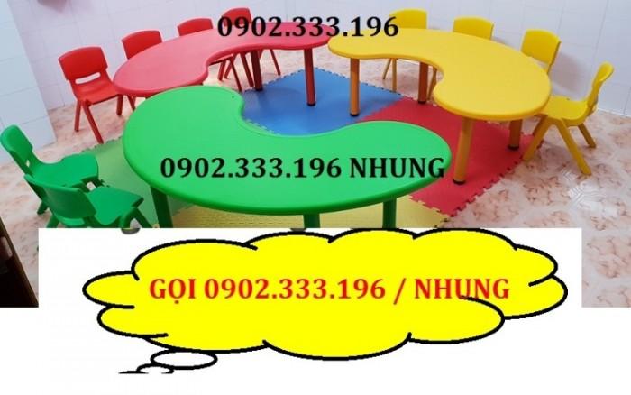 Bán bàn ghế nhựa cho bé, bàn ghế trẻ em giá rẻ4