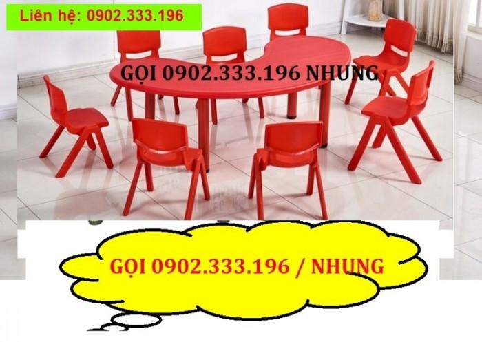 Bán bàn ghế nhựa cho bé, bàn ghế trẻ em giá rẻ8