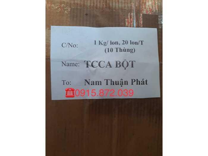 Hoá chất TCCA 90%3