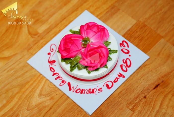 Bánh kem Hoa hồng - bánh kem 8/3 Quà Tặng 8/3 Suong's House1
