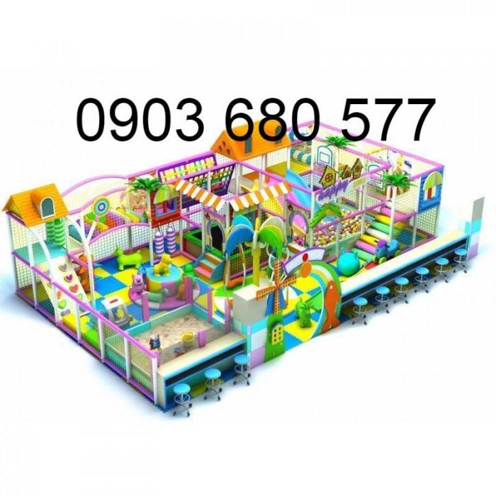 Chuyên nhận thi công khu vui chơi liên hoàn dành cho trẻ em13