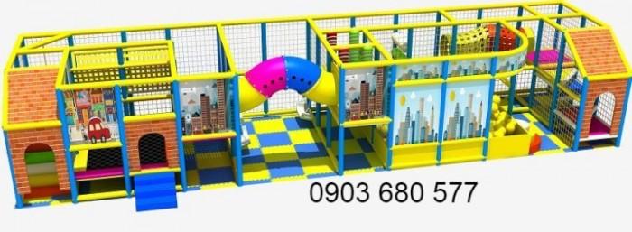 Chuyên nhận thi công khu vui chơi liên hoàn dành cho trẻ em1