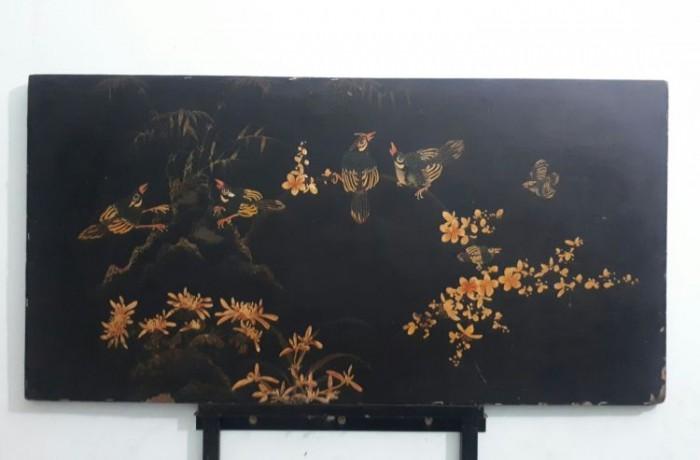 Tranh sơn khắc xưa kích thước 50x98cm1