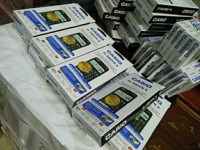 Máy tính casio Fx580vn plus chính hãng0