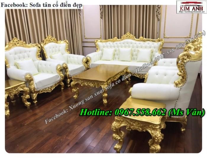 Mê mẫn top 20 mẫu sofa tân cổ điển sang chảnh giá rẻ tại xưởng sản xuất