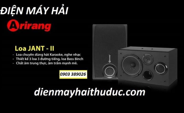 Loa Arirang Jant II Là dàn loa chuyên dụng để nghe nhạc và hát karaoke0