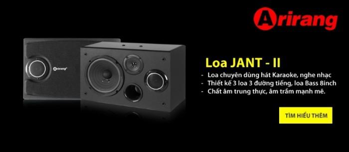 Loa Arirang Jant II chính hãng Arirang1
