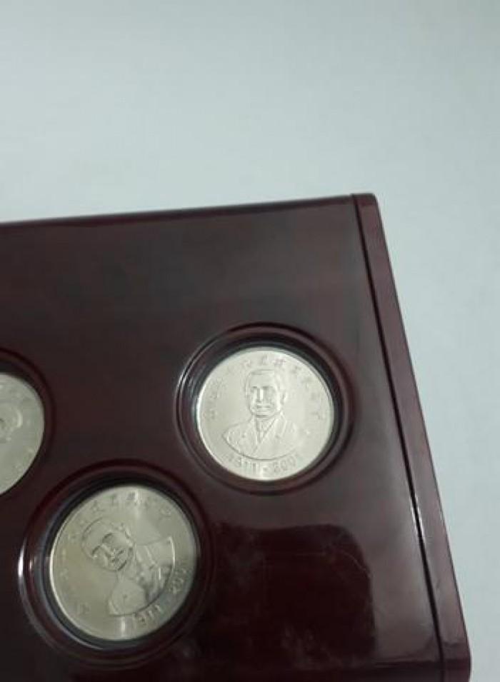 set 5 xu kỷ niệm 90 năm thành lập Trung Hoa Dân Quốc của Đài Loan5