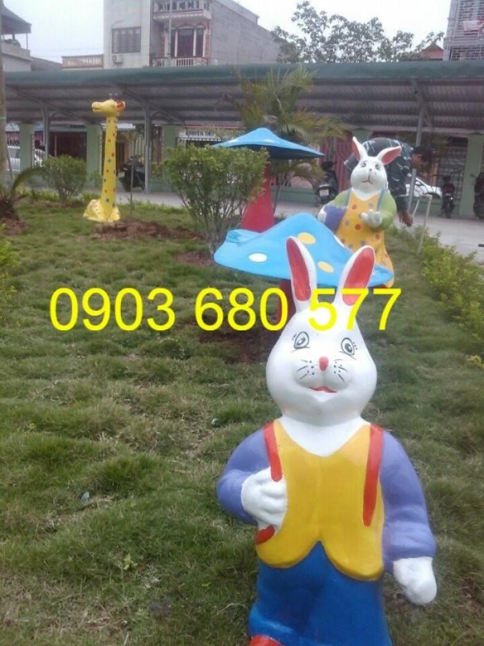 Chuyên nhận thi công vườn cổ tích dành cho trường lớp mầm non, công viên, sân chơi trẻ em16