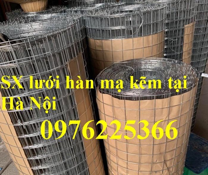 Chuyên sản xuất lưới hàn chập mạ kẽm phi 2, phi3, phi4, phi 5, phi 60