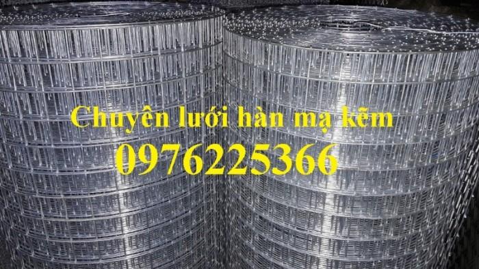 Chuyên sản xuất lưới hàn chập mạ kẽm phi 2, phi3, phi4, phi 5, phi 63