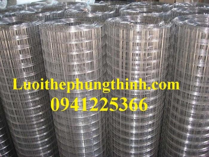 Chuyên sản xuất lưới hàn chập mạ kẽm phi 2, phi3, phi4, phi 5, phi 64