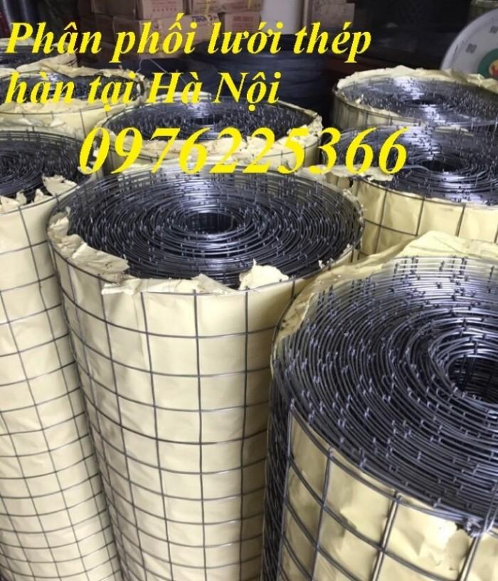Chuyên sản xuất lưới hàn chập mạ kẽm phi 2, phi3, phi4, phi 5, phi 65