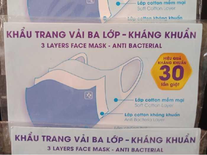 Báo giá sỉ, lẻ khẩu trang y tế bằng vải - MuaBanNhanh