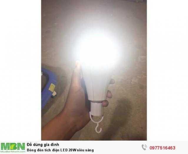 Bóng đèn tích điện  LED 20W siêu sáng