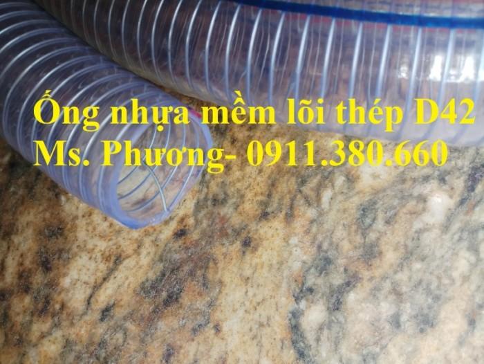 Ống nhựa mềm lõi thép D42, 50m/cuộn- hàng có sẵn kho2