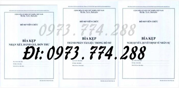 3 Bìa kẹp Mẫu HS09c-VC/BNV, Mẫu HS09d-VC/BNV, Mẫu HS09b-VC/BNV0