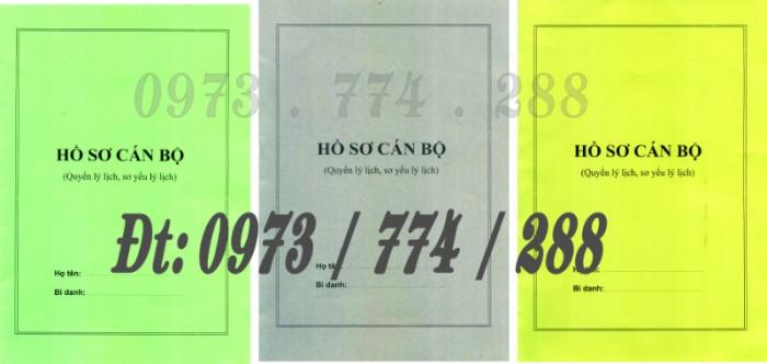 3 Bìa kẹp Mẫu HS09c-VC/BNV, Mẫu HS09d-VC/BNV, Mẫu HS09b-VC/BNV10