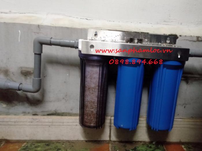 Bộ ba cốc lọc nước sinh hoạt nhựa PP 10 inch3