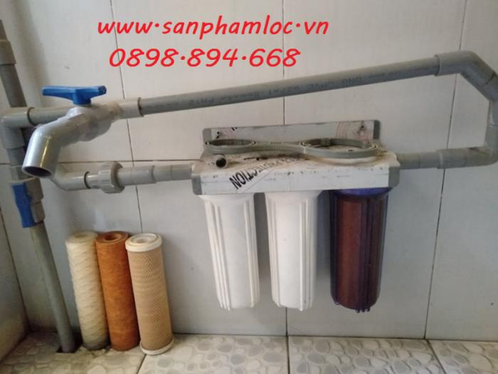 Bộ ba cốc lọc nước sinh hoạt nhựa PP 10 inch4