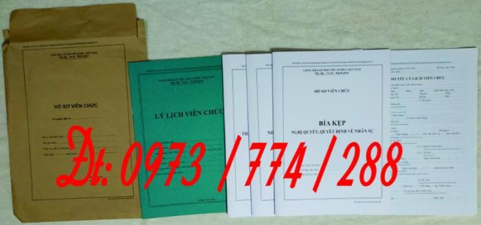 Bìa kẹp thành phần tài liệu trong hồ sơ - Hồ sơ viên chức3