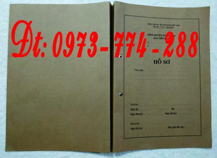 Bìa kẹp thành phần tài liệu trong hồ sơ - Hồ sơ viên chức20
