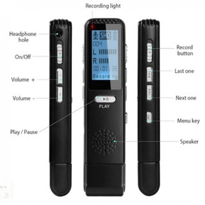 Máy ghi âm Suntech V25 Lọc âm thanh không cần thiết giúp ghi âm thanh chính tốt hơn1
