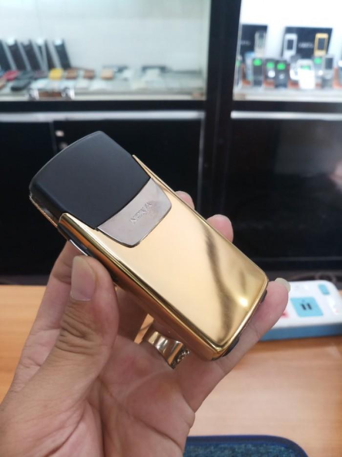 Điện thoại nokia 8910 nguyên bản mạ vàng0
