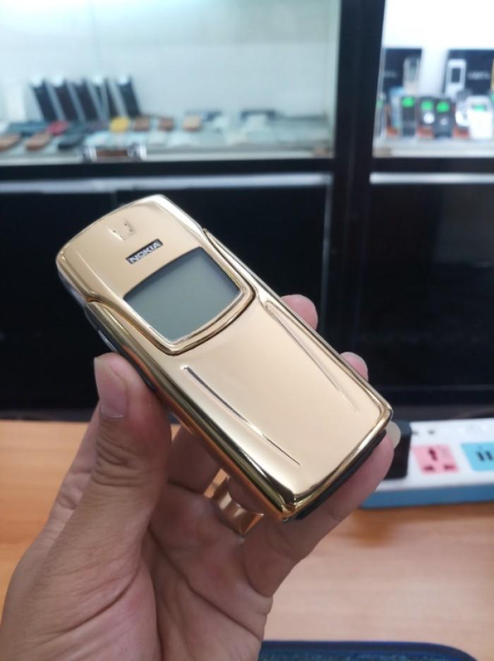 Điện thoại nokia 8910 nguyên bản mạ vàng7