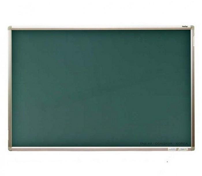 Bảng từ xanh viết phấn chống lóa Hàn Quốc kích thước nhỏ 40x60cm - rất phù hợp cho bé tập vẽ tập viết và tự học hay làm các con toán.1