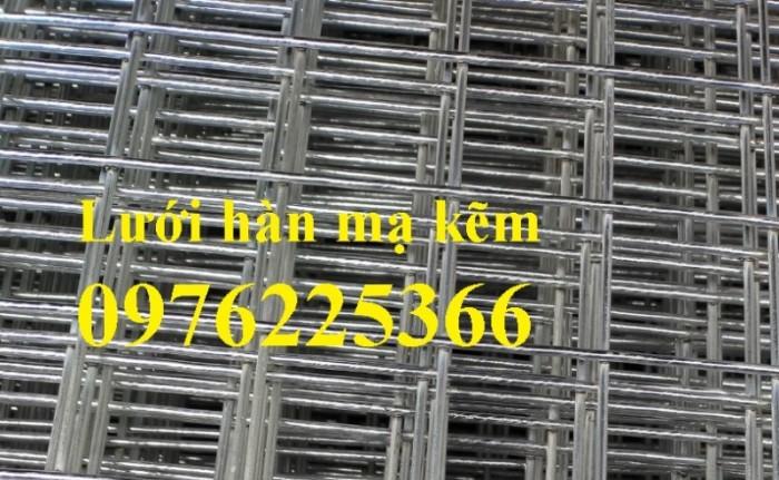 Lưới hàn ô vuông, lưới hàn mạ kẽm, lưới thép hàn chập2