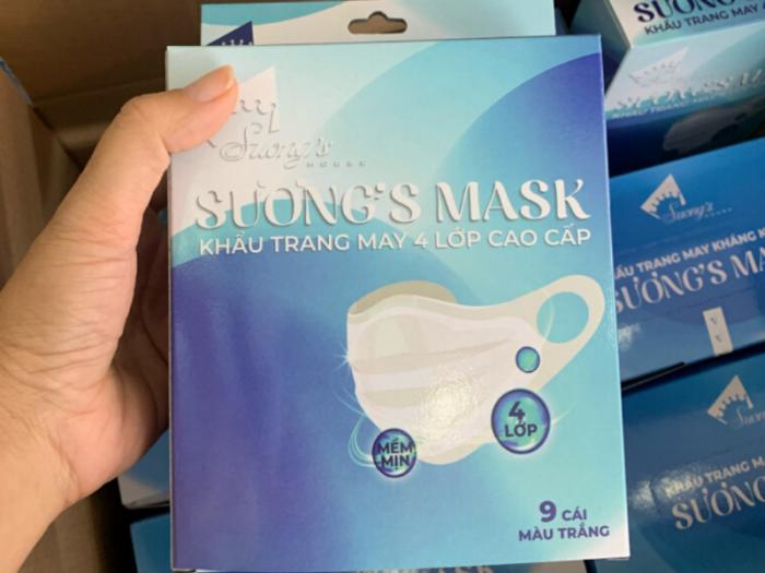 Khẩu trang kháng khuẩn Suong's Mask 0