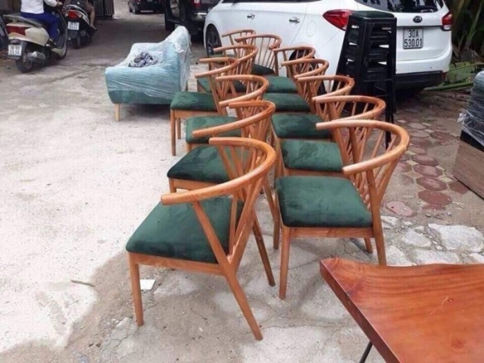 ghế gỗ HD. 02 giá tại xưỡng sãn xuất3
