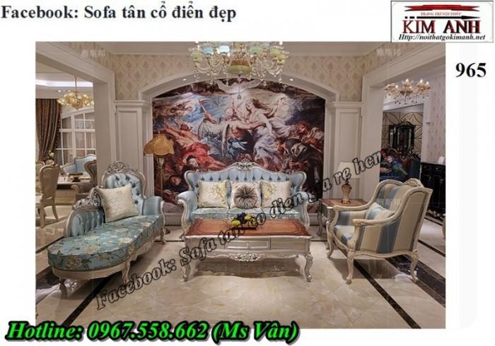 sofa phòng khách tân cổ điển Tân Bình Bình Thạnh1