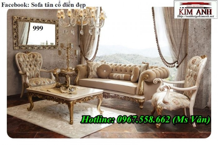 sofa tân cổ điển giá rẻ tphcm 2