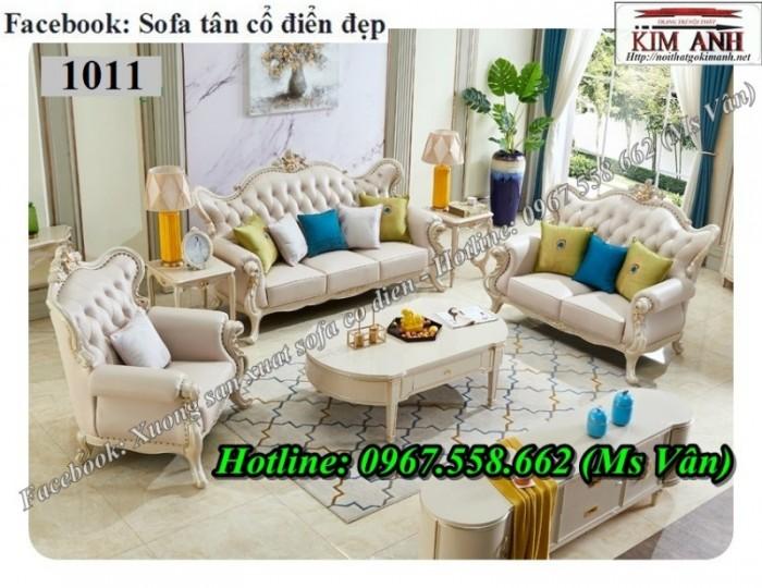 sofa cổ điển màu trắng q1 q2 q75